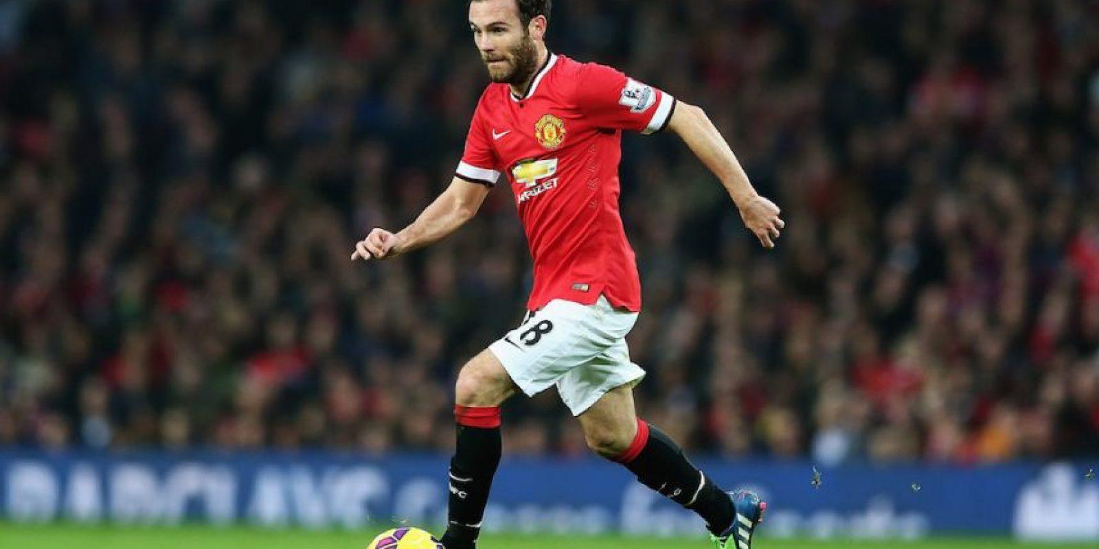 Mata, de 26 años de edad, salió del Chelsea para llegar al Manchester United. Foto:Getty Images