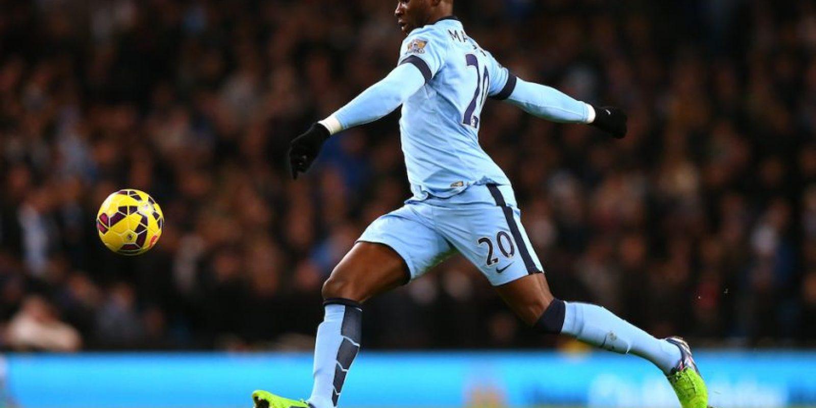 El jugador francés de 23 años de edad fue fichado por el Manchester City inglés proveniente del Porto de Portugal. Foto:Getty Images