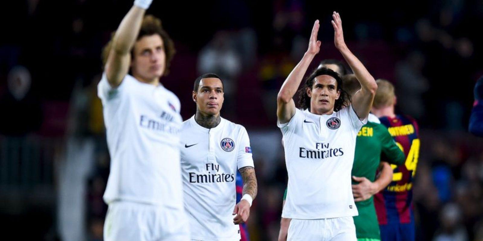 """""""Queridos amigos del Chelsea, les dijimos que volveriamos"""", escribió la cuenta oficial del PSG en Twitter Foto:Getty"""