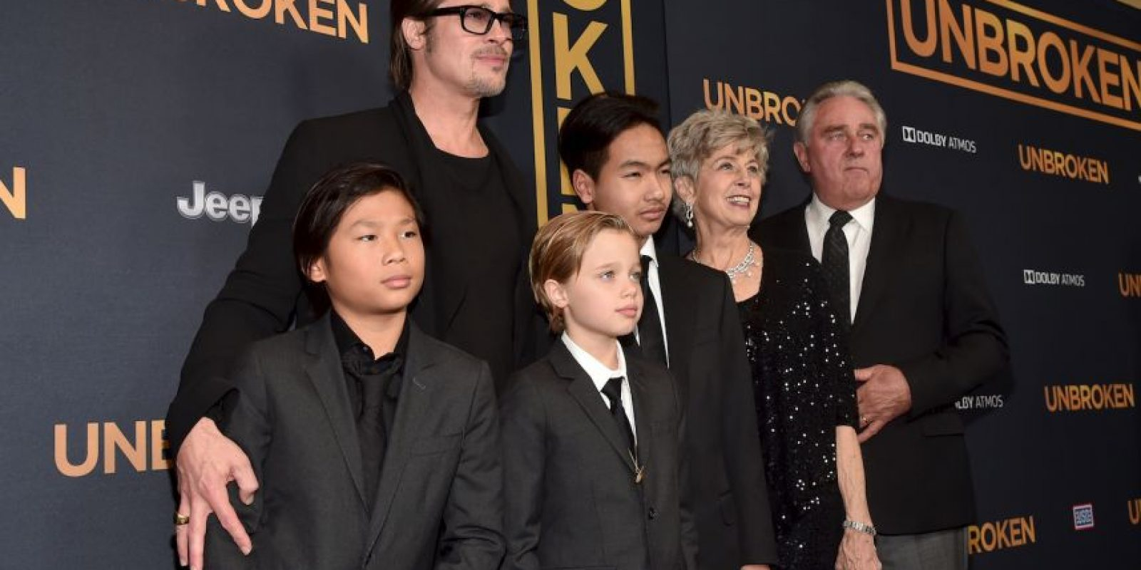 Llegaron en representación de su madre Foto:Getty Images