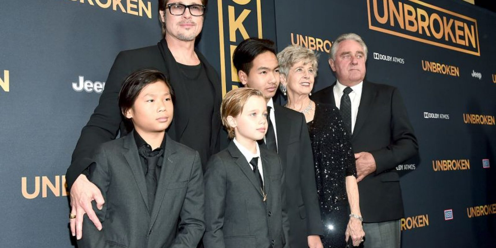 """Asistieron al estreno de """"Unbroken"""" Foto:Getty Images"""