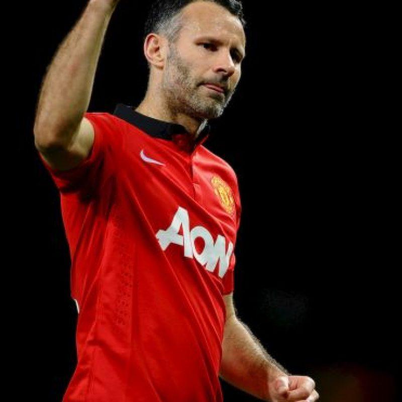 La emblemática figura del Manchester United nunca jugó una Copa del Mundo, pero sí ganó dos UEFA Champions League, dos Mundiales de Clubes y 13 Premier League inglesas. Foto:Getty Images