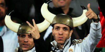 La afición del Real Madrid y del Cruz Azul se hizo presente en Marrakech. Foto:AFP