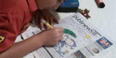 FOTOS. Así interactuaron los niños con Publinews
