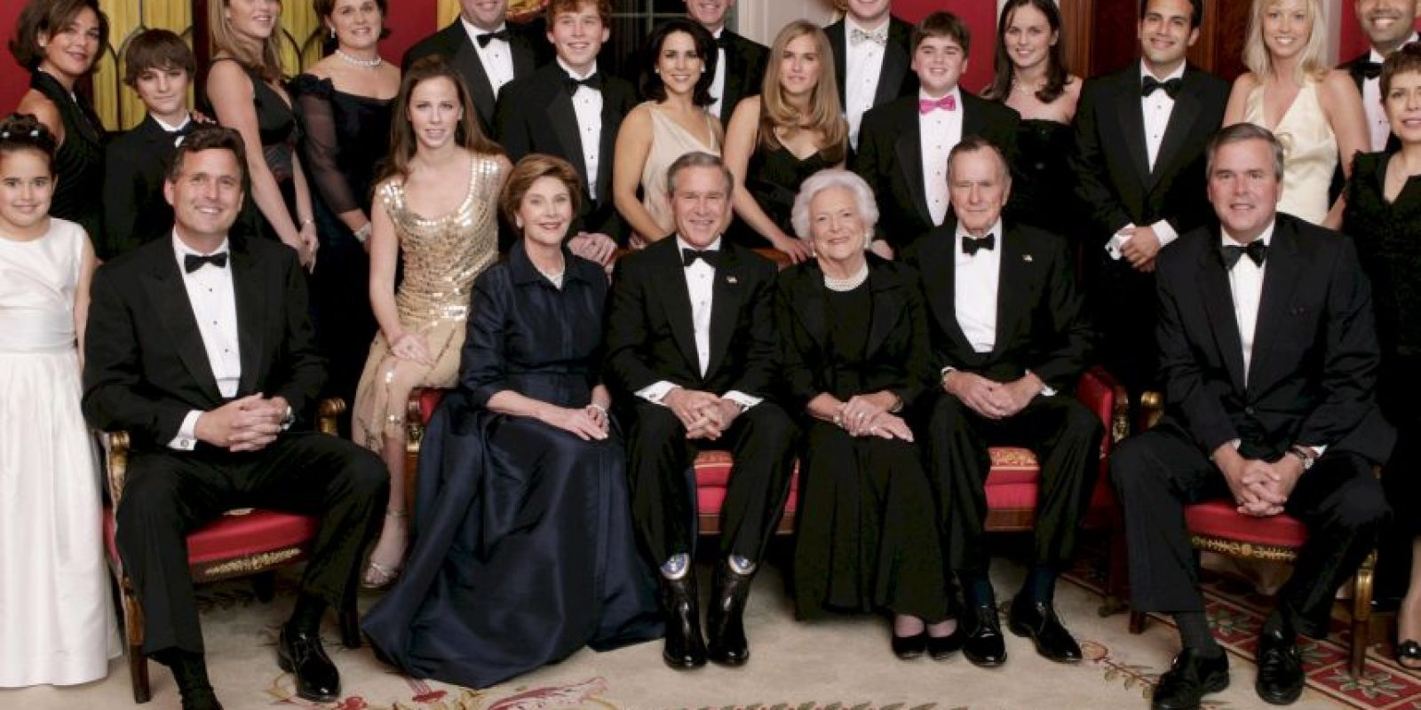 La familia del expresidente Foto:Agencias