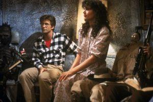 Alec Baldwin y Geena Davis en 1988 Foto:IMDB
