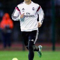 El colombiano James Rodríguez entrena en Marruecos tratando de recuperarse de una lesión.