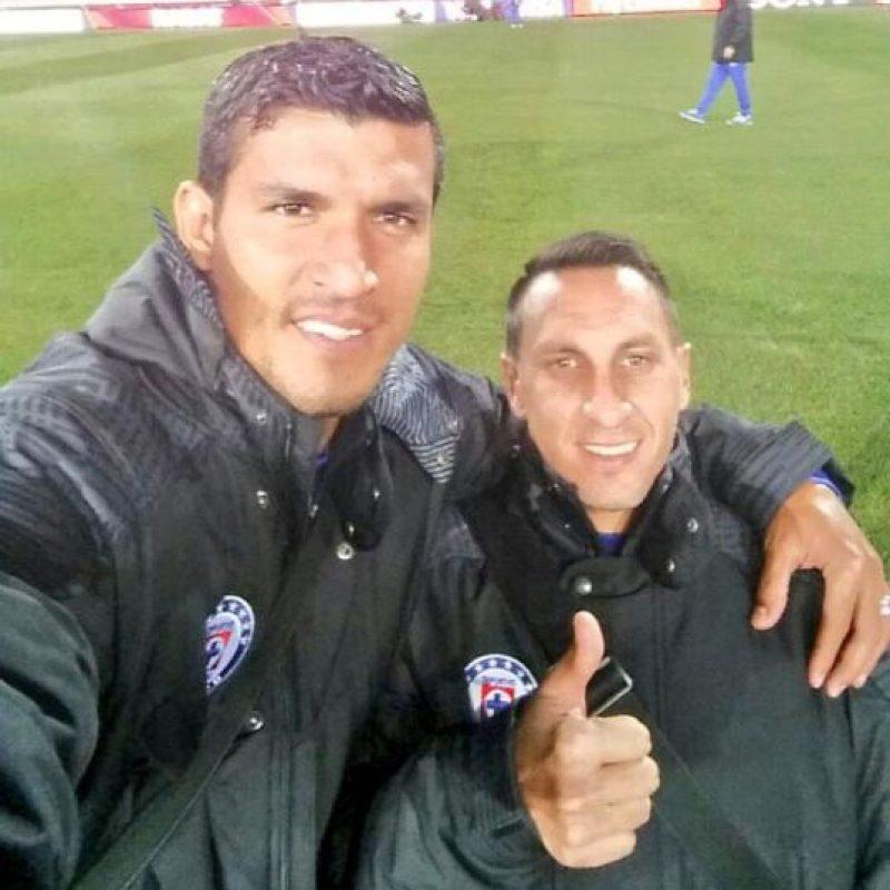 "Javier ""Maza"" Rodríguez y ""El Chaco"" Giménez. Foto:twitter.com/MazaRP2"