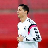 Cristiano Ronaldo entrenando en Marruecos. Foto:twitter.com/realmadrid