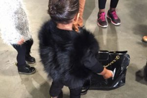 """Con todo su estilo fashionista en """"Disney On Ice"""" (Disney sobre hielo) Foto:Instagram/Kim Kardashian"""