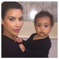 Cuando nos mostró su rostro para los paparazzi Foto:Instagram/Kim Kardashian