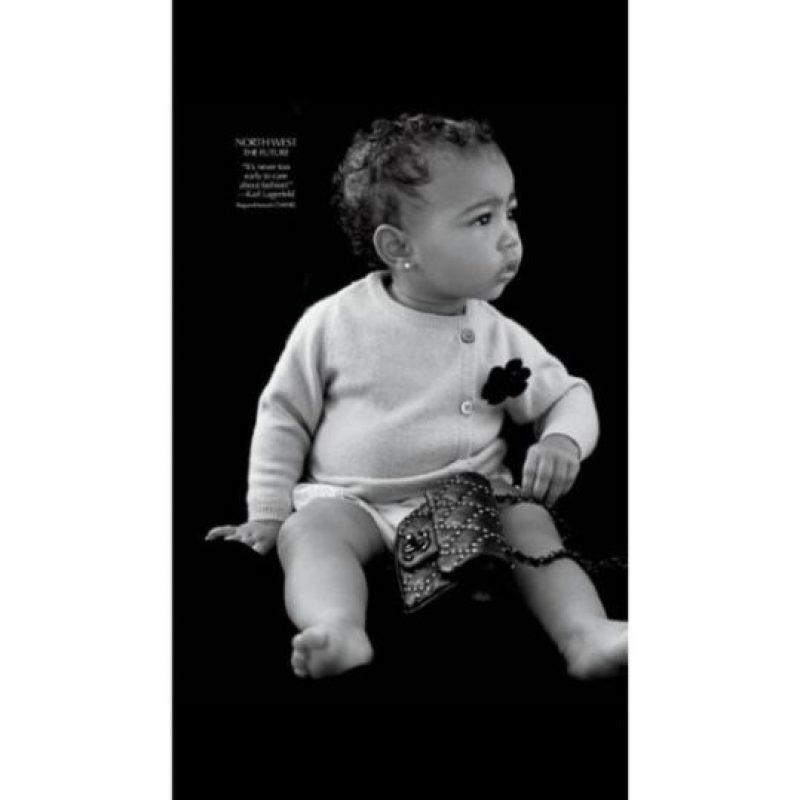 Cuando modeló por primera vez para una revista. Foto:Instagram/Kim Kardashian