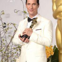 Este año, el actor y productor fue reconocido con un Óscar y un Globo de Oro como mejor actor de drama. Foto:Getty Images