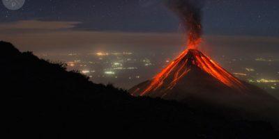 Impresionantes fotos del volcán de Fuego