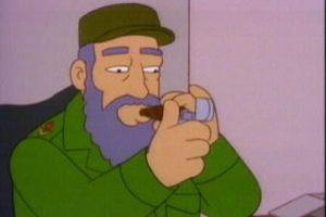 7. Fidel Castro Foto:FOX