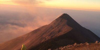 El coloso está entre Chimaltenango, Escuintla y Sacatepéquez Foto:Juan Pablo Palma Ochoa