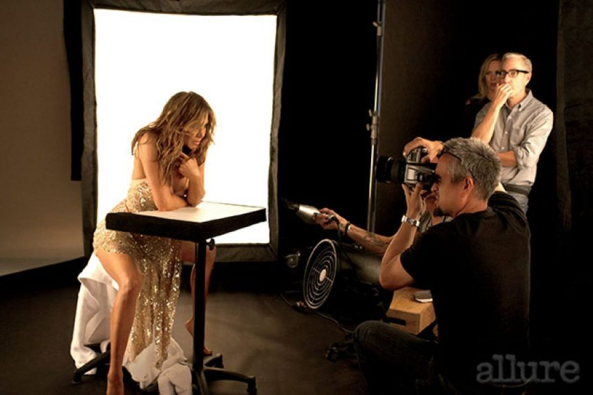 """Durante su entrevista con la revista """"Allure"""", Aniston reveló más detalles sobre su idea de postergar la maternidad. Foto:Allure"""
