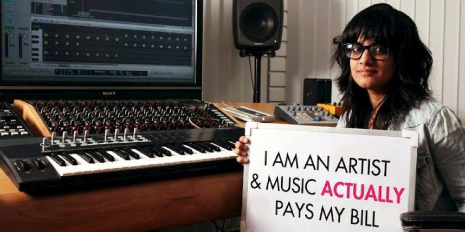 """""""Soy una artista y la música paga mis cuentas"""" Foto:Truly Madly"""