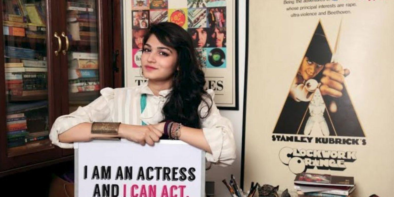 """""""Soy una actriz y puedo actuar"""" Foto:Truly Madly"""
