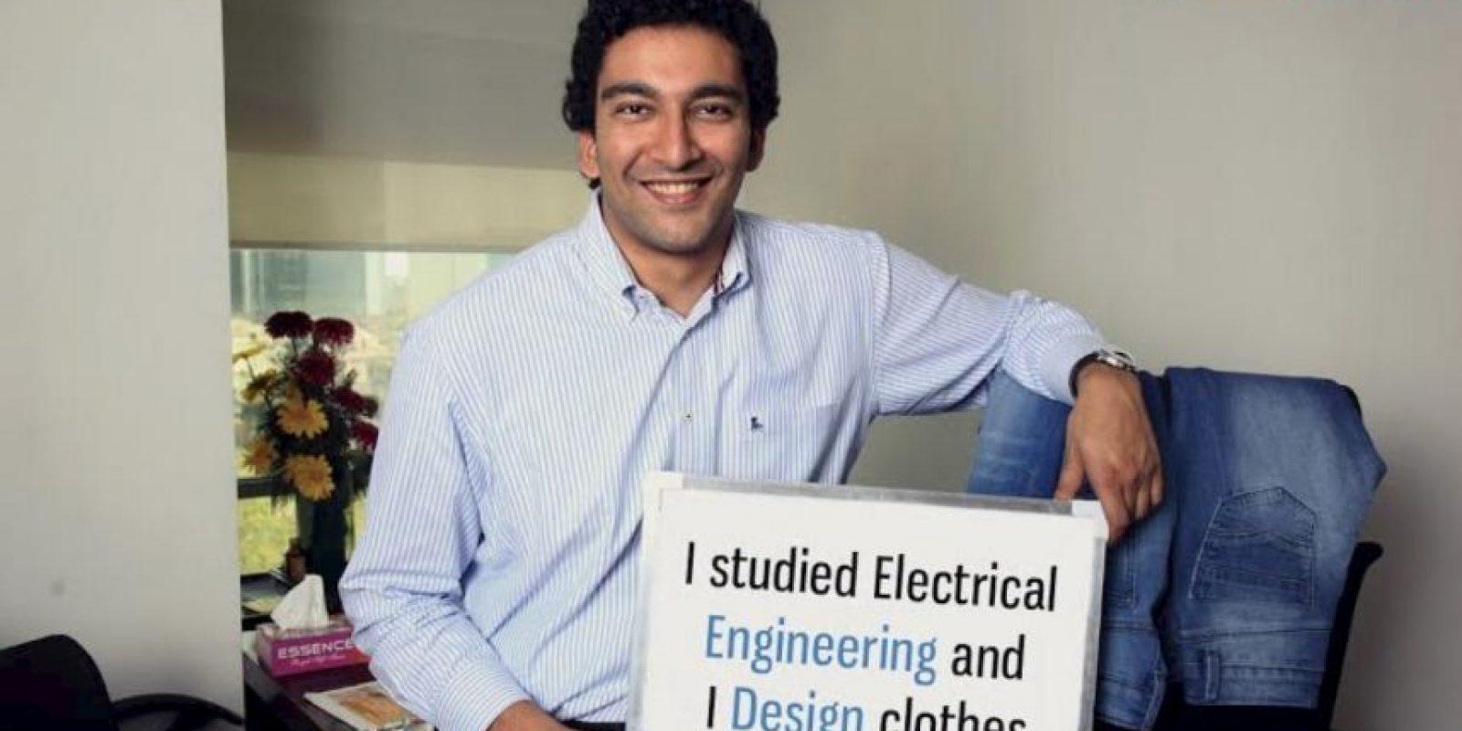 """""""Estudié ingeniería eléctrica y diseño ropa"""" Foto:Truly Madly"""