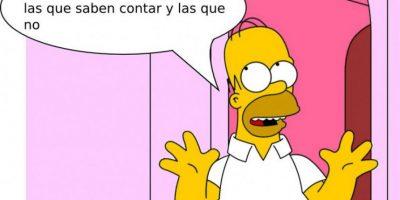 """Foto:Facebook Memes de """"Los Simpson"""""""