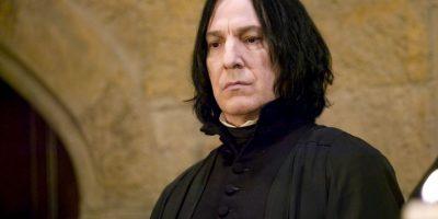Todo lo hizo porque siempre amó a Lily, la madre de Harry, pero murió a manos de Nagini, la mascota de Voldemort. Foto:Warner Bros