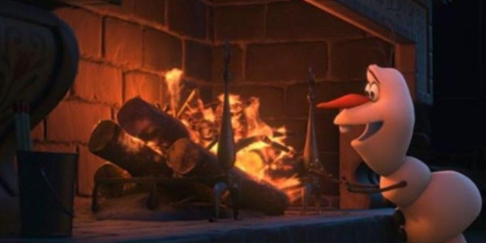 """""""Rapunzel"""" también está invitada a la coronación de Elsa. Foto:Disney"""