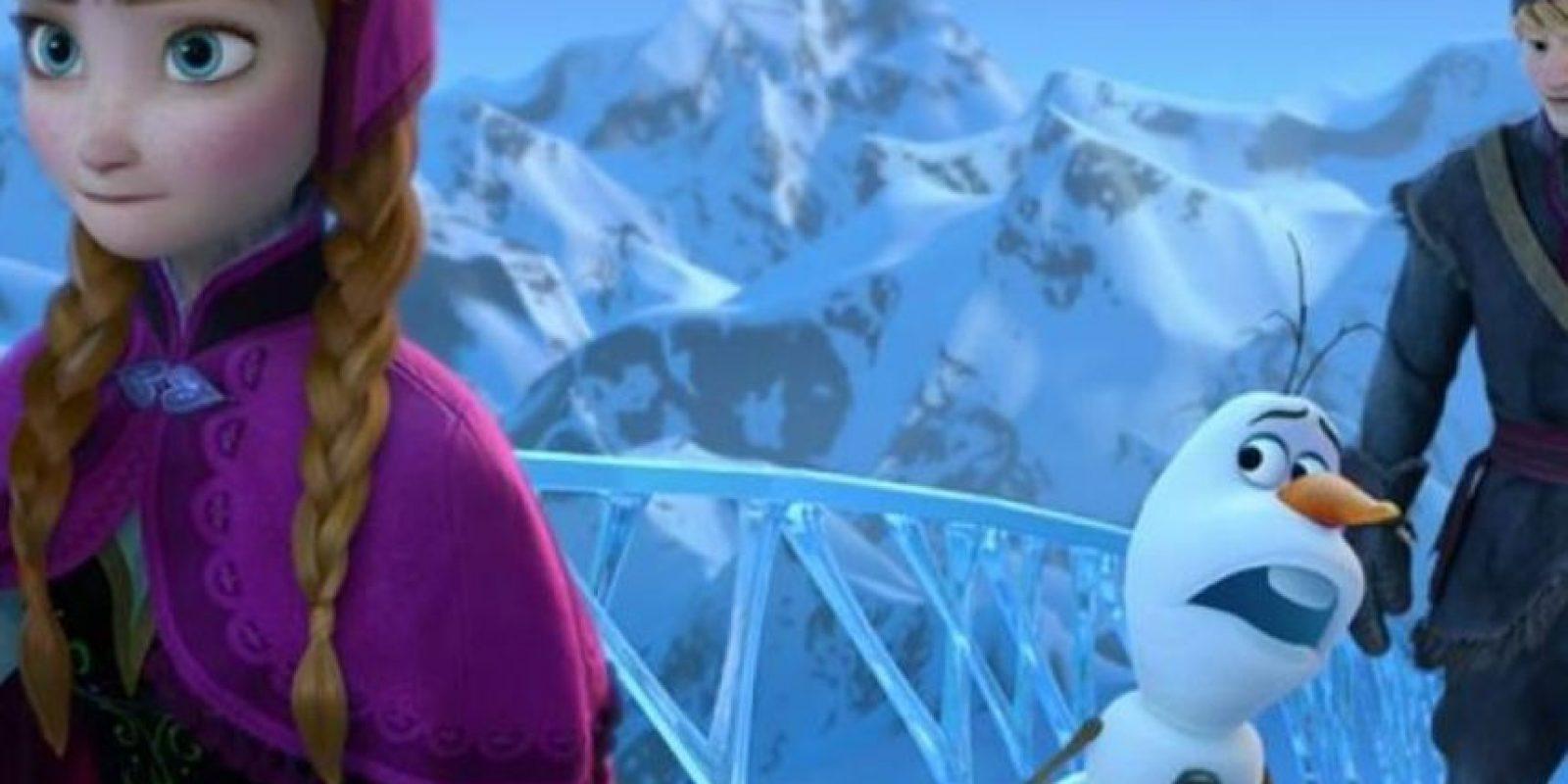 Anna desea saber por qué sus padres encerraron a Elsa. Foto:Disney
