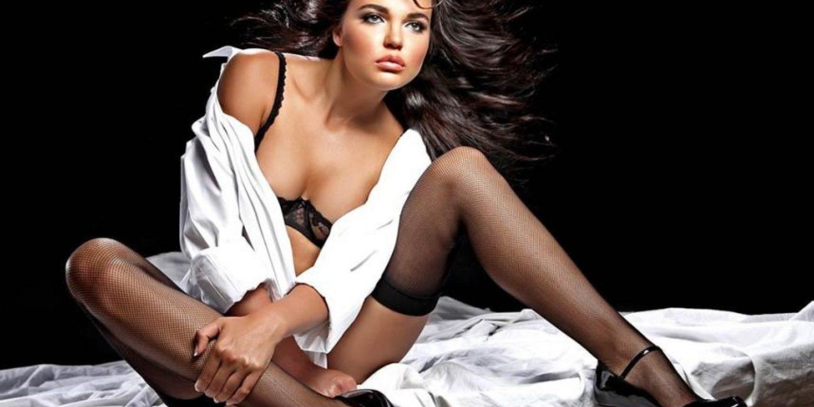 Además de su pasión por las carreras, a Inessa le encanta el modelaje. Foto:taringa.net