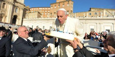 FOTOS: Así festejó el Papa Francisco su cumpleaños 78