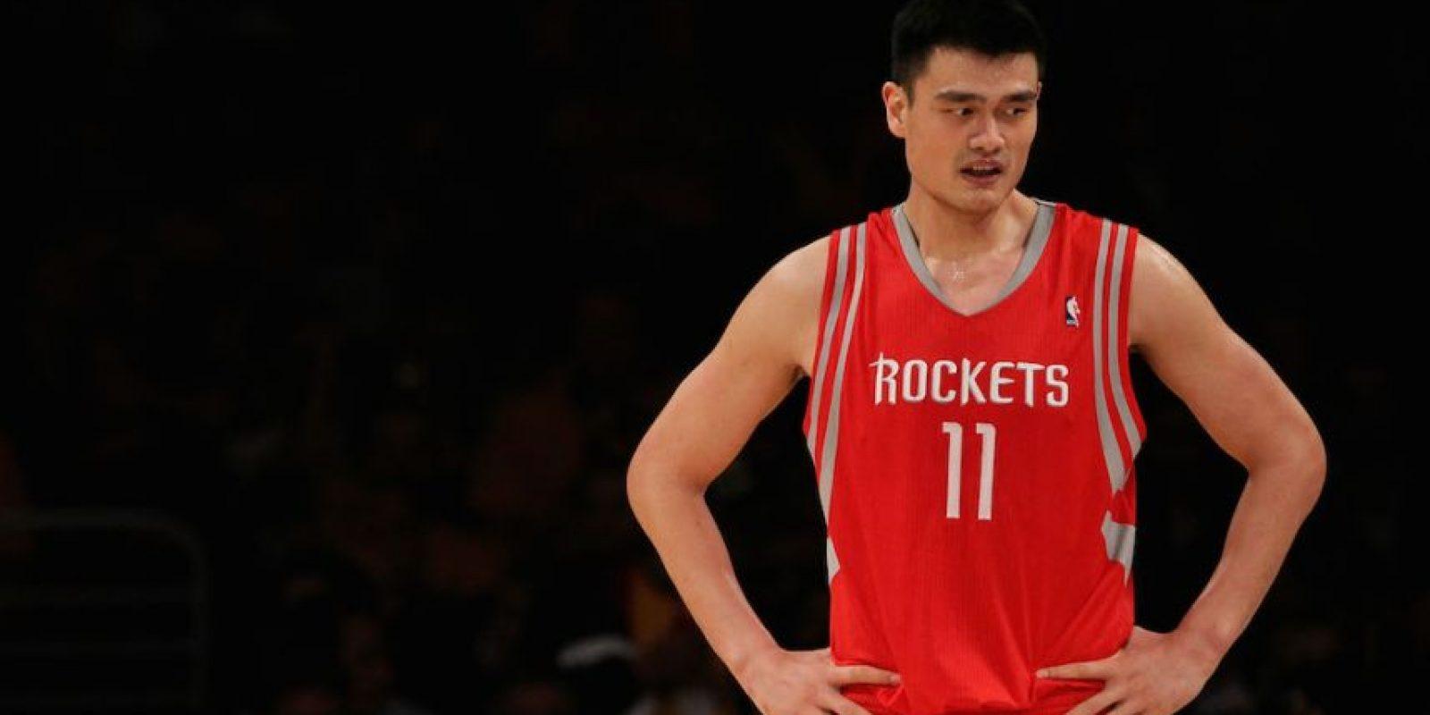 Yao Ming nació en China y tiene 34 años. Foto:Getty Images