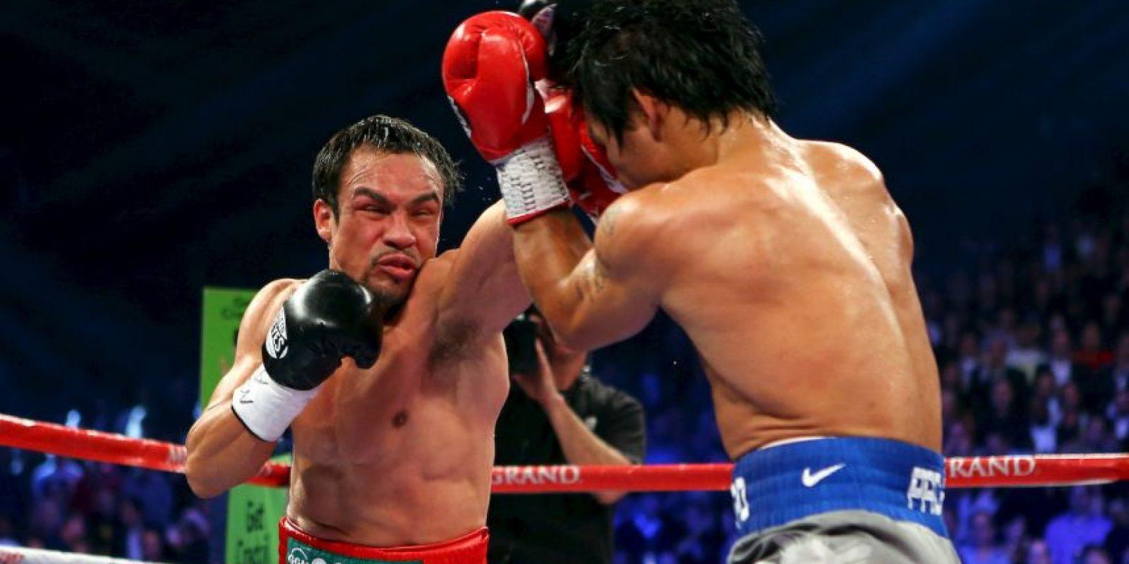 Ha peleado cuatro veces contra Juan Manuel Márquez Foto:Instagram: @emmanuelpacquiao