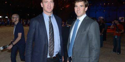 Payton tiene 38 años de edad y Eli tiene 33 años de edad. Foto:Getty Images