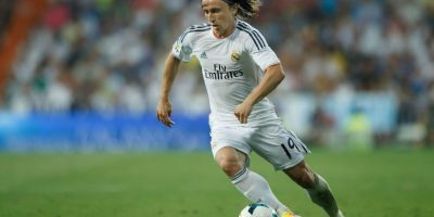 Luka Modrić, futbolista croata del Real Madrid. Foto: Getty Images