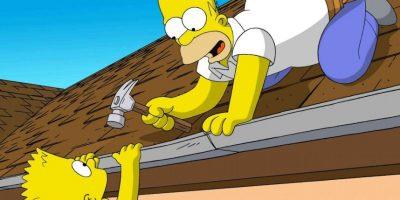 """""""Siempre haces eso, siempre te pones de parte de un extraño: Flanders, el departamento de aguas, DIOS"""". Foto:Internet"""