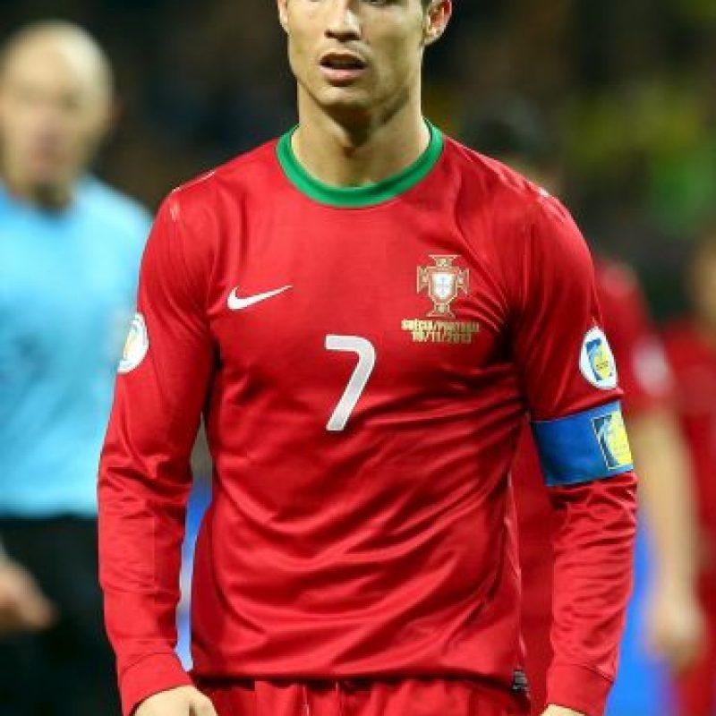 Cristiano Ronaldo milita actualmente en el Real Madrid. Foto:Getty Images
