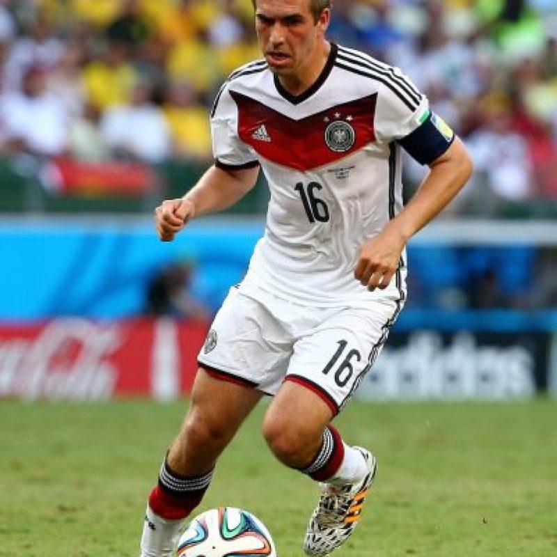 Philipp Lahm, futbolista alemán del Bayern de Múnich. Foto:Getty Images