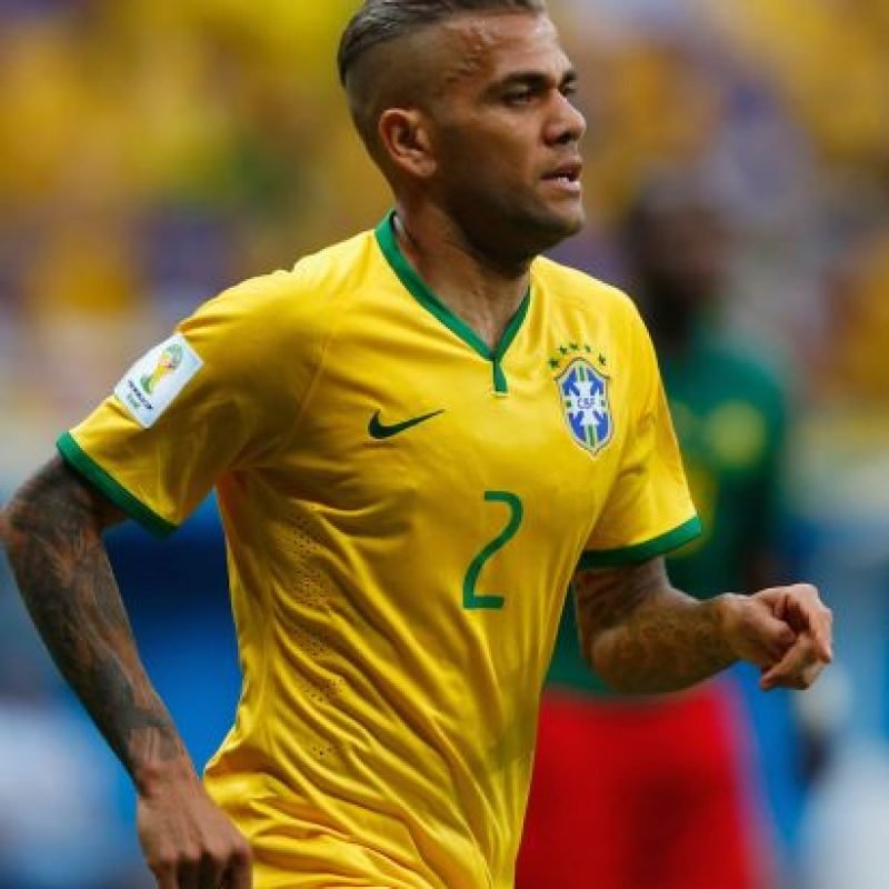 Daniel Alves, futbolista brasileño del Barcelona. Foto:Getty Images