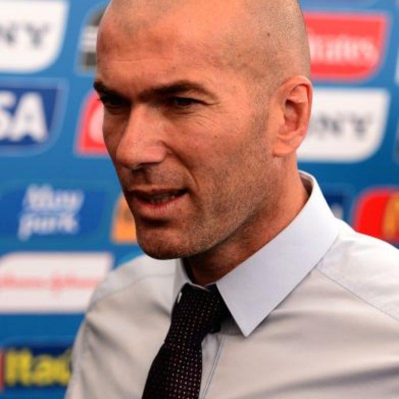 El exfutbolista francés tiene una base de jugadores del Real Madrid. Foto:Getty Images