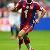 Franck Ribéry, futbolista alemán del Bayern de Múnich. Foto:Getty Images