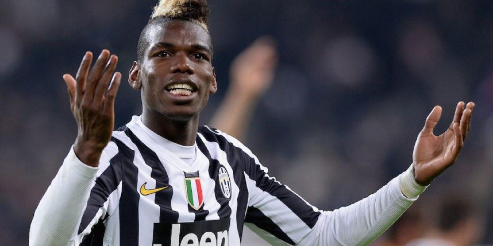 Paul Pogba, futbolista francés de la Juventus. Foto:Getty Images