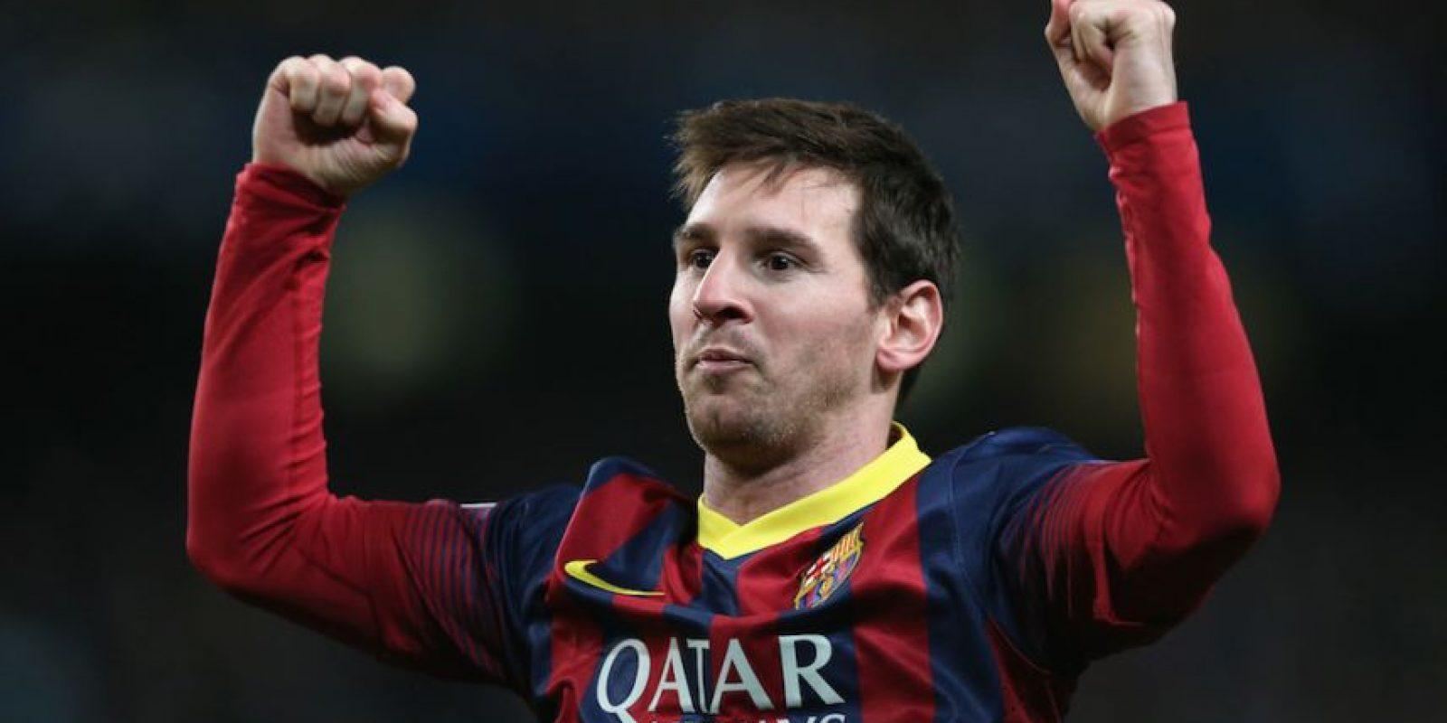 Lionel Messi, futbolista argentino del Barcelona. Foto:Getty Images