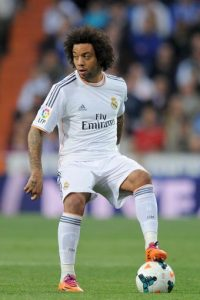 Marcelo, futbolista brasileño del Real Madrid. Foto: Getty Images