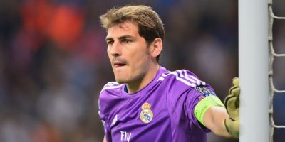 Iker Casillas, arquero español del Real Madrid. Foto:Getty Images