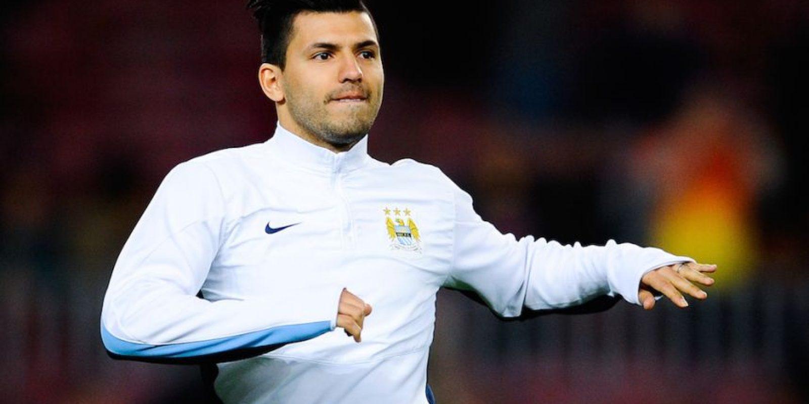 Sergio Agüero, futbolista argentino del Manchester City. Foto:Getty Images