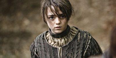 Maisie Williams esArya Stark en la serie de televisión.