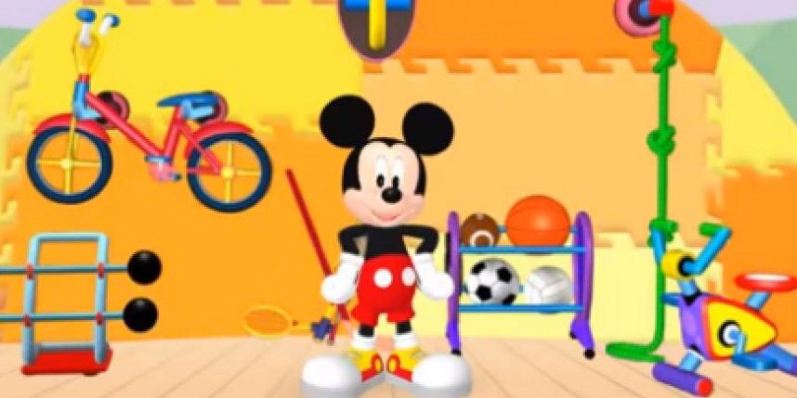 El 3D es un formato que adiquirió Mickey Mouse en sus recientes emisiones. Foto:YouTube