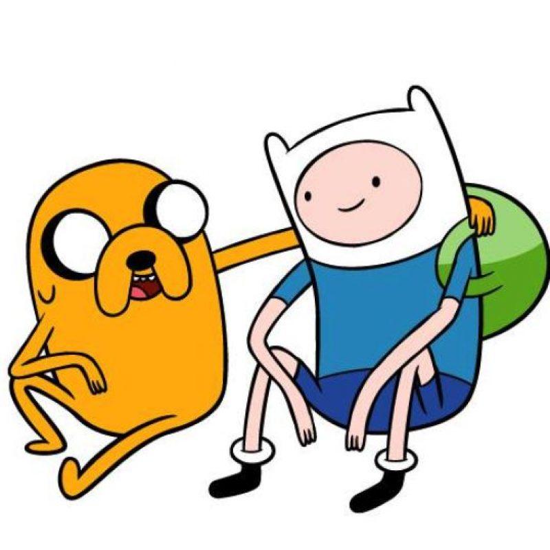 """Jake y Finn de """"Hora de Aventura Foto:Facebook/Cartoon Network"""