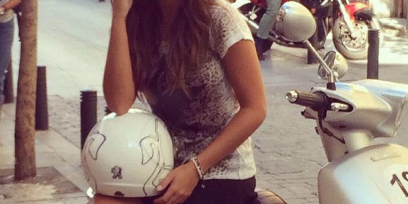 Hace tiempo salió con el futbolista Sergio Ramos Foto:Instagram: @laruka