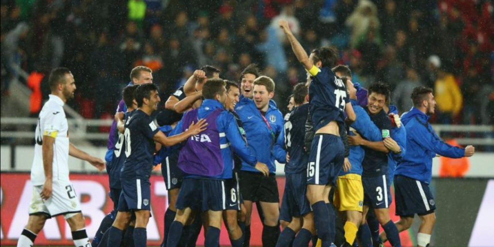 En los cuartos de final le pasó por encima al ES Sétif de Argelia Foto:Twitter: @AucklandCity_FC